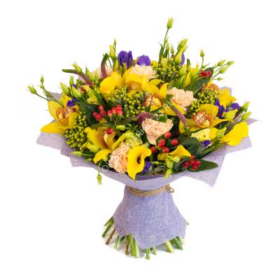 Киеве букет купить цветы косино оформлении