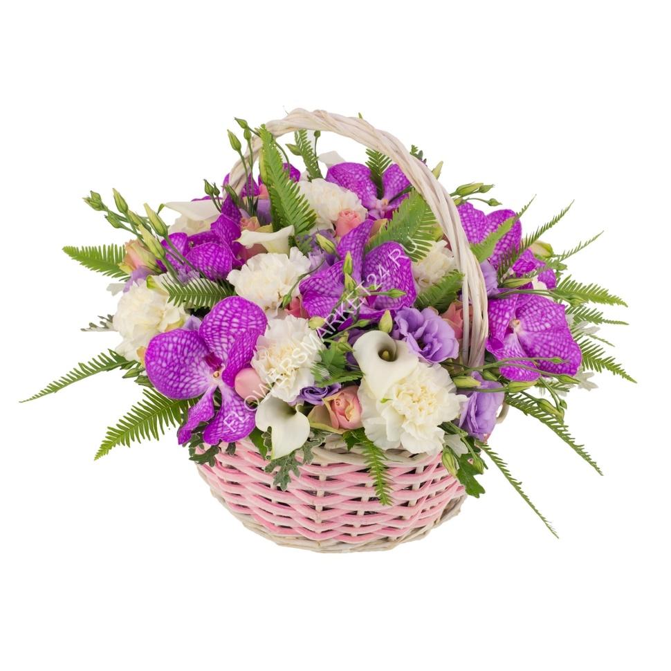 Купить рафию цветы корзины доставка цветов по самарканду